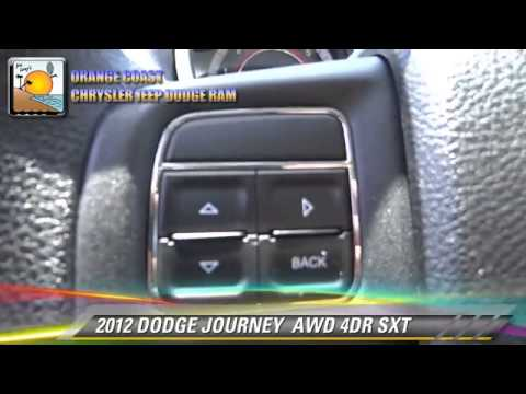 2012 DODGE JOURNEY  AWD 4DR SXT - Costa Mesa