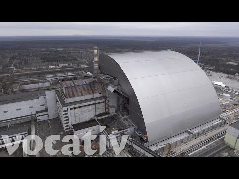 Destroyed Chernobyl Reactor Gets A New Cover