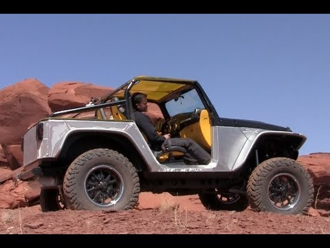 Jeep Wrangler Stitch Concept Revealed: Is less really more off-road?
