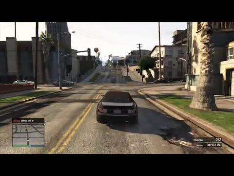 GTA ONLINE - Carro de Palhaço!? (GTA 5 Online Gameplay)
