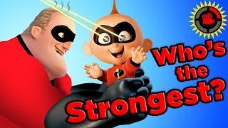 Film Theory: Welke Incredible is het MEEST ONGELOFELIJK? (Disney Pixar's de Incredibles)