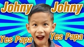 Johny Johny Yes Papa - THE BEST Song for Children By อิชิเด