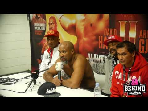 BRIGGS: 'I'M RUNNING DAVID [HAYE] OUT OF ENGLAND, THIS IS MY HOUSE NOW' -  POST FIGHT PRESS CONF.