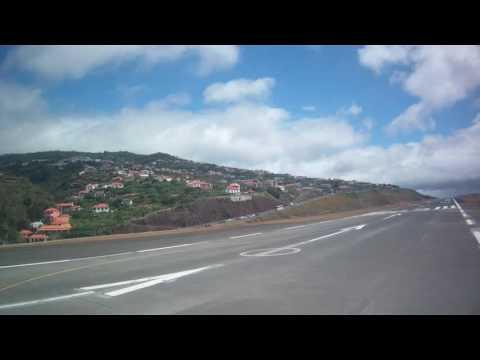 Take-off from Madeira Airport, Santa Cruz, Madeira, Portugal - 3rd July, 2016