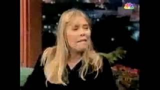 Joni Mitchell  - 'Sex Kills' + interview, NBC 'The Tonight Show with Jay Leno' 1995