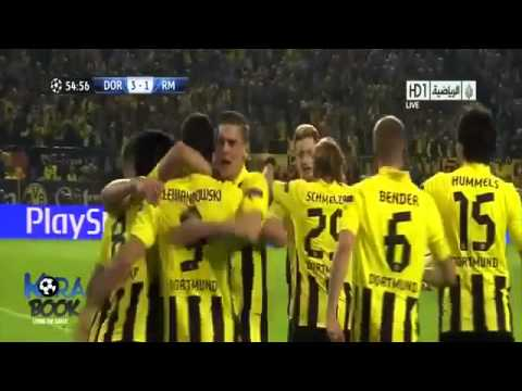 Real madrid vs borussia dortmund 1- 4