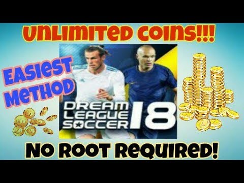 Dream League Soccer 2018 HACK / UNLIMITED COINS / NO ROOT / EASIEST METHOD / LATEST VERSION