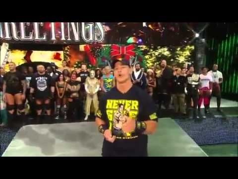 Wwe Superstars & Divas Sing Ring The Bell! Christmas Song video