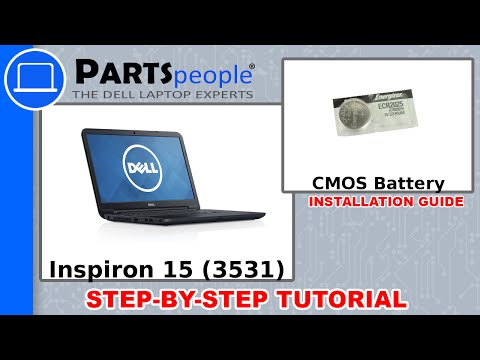 Dell Inspiron 15 (3531) CMOS Battery How-To Video Tutorial