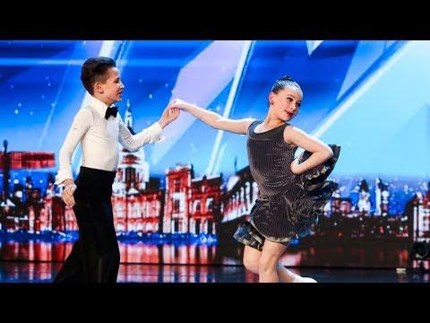 رقص اطفال كأنهما محترفين   برنامج مواهب بريطانيا 2018 - مترجم thumbnail