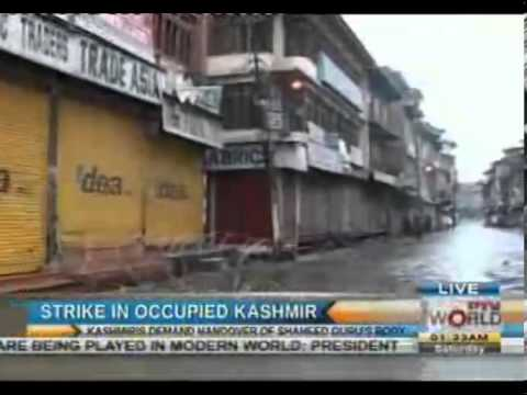Complete strike in Indian Occupied Kashmir for 3rd day
