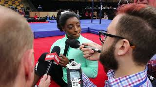 Interview: Simone Biles - Day 2, 2018 US Championships
