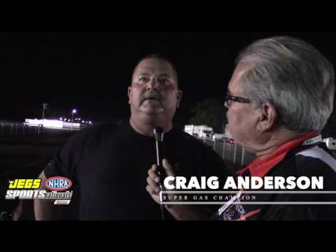 Winners Circle Interviews from JEGS NHRA SPORTSnationals 2016