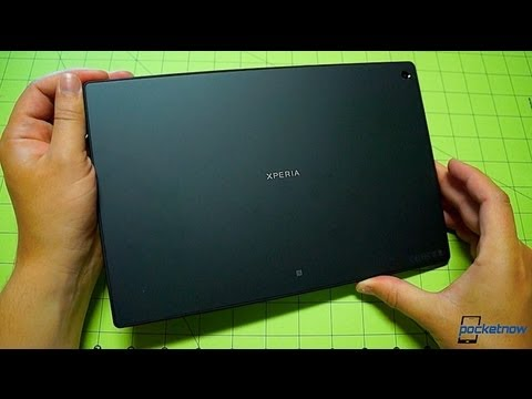 Sony Xperia Tablet Z: Unboxing