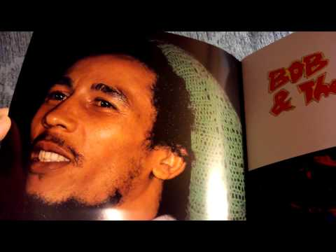 Bob Marley & The Wailers Live Forever Box Set Unpackaging
