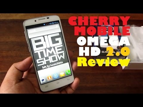 Cherry Mobile Omega HD 2.0 Review - Quad-Core Sequel To The Popular Local Cameraphone For PHP 7,999