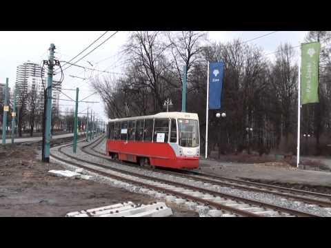 (12.01.14) Tramwaje W Katowicach I Chorzowie