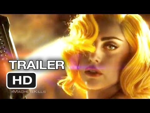 Machete Kills International Trailer (2013) - Robert Rodriguez. Jessica Alba Movie HD