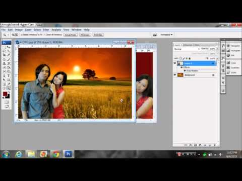 Tutorial Ganti BG - Photoshop Cs4