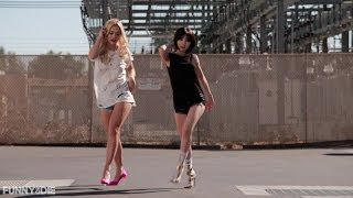 Girl, You Better Walk With HyunA And Rita Ora