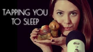 ASMR ♡ Beruhigendes Einschlaf Tapping ♡ soft whisper and tapping in German/Deutsch