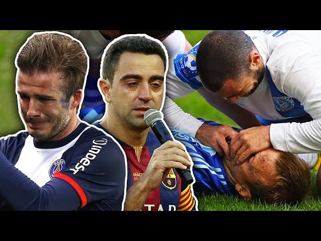 10 Most Emotional Moments In Football!