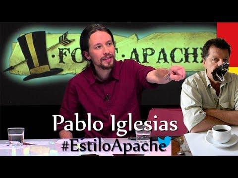 Alfonso Rojo expulsa bilis por la boca al hablar con Pablo Iglesias en la Sexta Noche