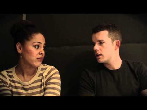 Russell Tovey and Lenora Crichlow Teen Road Safety skit