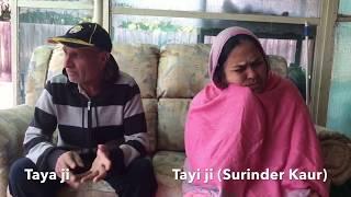 TAYI SURINDER KAUR || ਮੈ ਚੱਲੀ INDIA ਨੂੰ || Taya ji || Vegemite Singh || Pardeep Sharma