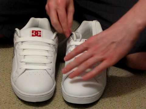 Putting Shoe Laces Back