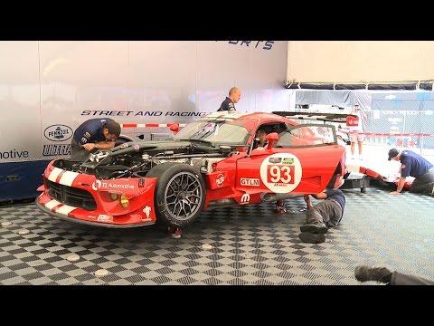 Viper SRT GTS-R Prepares for the Petit Le Mans