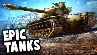 BEST TANKS of WW2!  Totally Accurate TANKS (World of Tanks Multiplayer Gameplay)