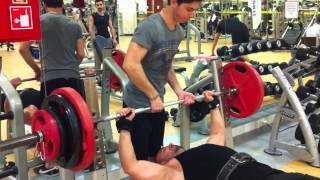 Serkan 130KG Bench Press