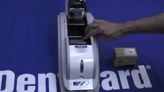 IDenticard(R) Smart IDcard Printer Ribbon Loading