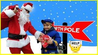 Santa vs Police || Grandma STOLE Our Christmas Presents ||  Xmas 2018 Children's Fun Video