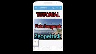 Tutorial edit foto bergerak ZOETROPIC 7.68 MB