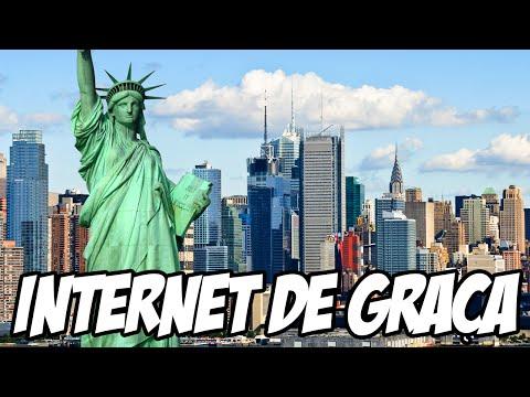 Cidade de Nova York terá internet DE GRAÇA PARA TODOS SEM CUSTO DE IMPOSTOS, É ASSIM QUE SE FAZ