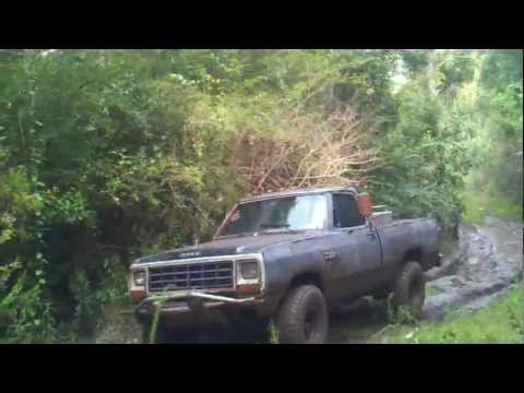 84 dodge power ram mudding