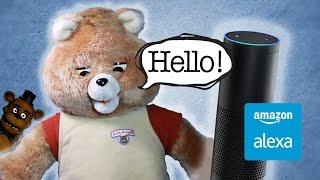 Alexa Ruxpin - Raspberry Pi & Alexa Powered Teddy Bear