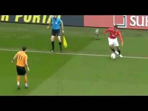 Jugadas Antonio Valencia Wolverhamton 0 Manchester 5