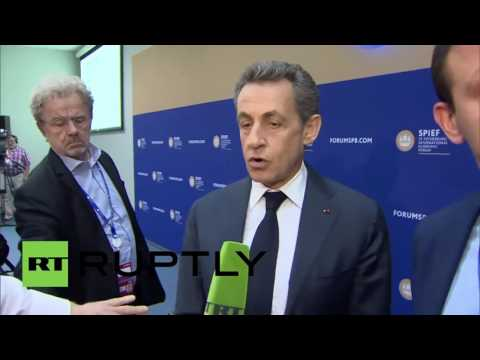 Russia: EU-Russia sanctions should be lifted says Sarkozy