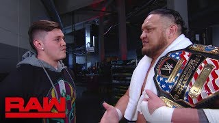 Samoa Joe meets Rey Mysterio's son: Raw, May 6, 2019