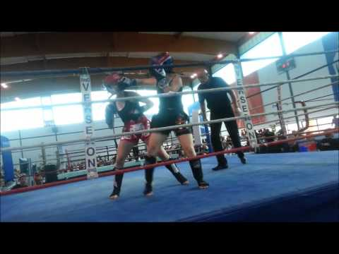 Finale Eva Guillot Championnat de France de Kick Boxing