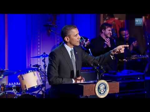 President obama hosts in performance at the white house memphis soul
