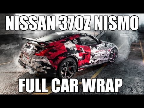 Nissan 370z Nismo Full Car Wrap For Gumball 3000