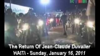 Jean Claude Duvalier Returns To Haiti Part 9