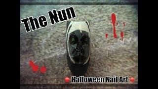 The Nun Nail Art