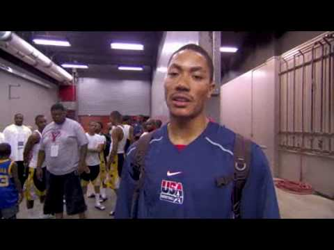 Latest Bulls Video: Derrick Rose Talking about Team USA