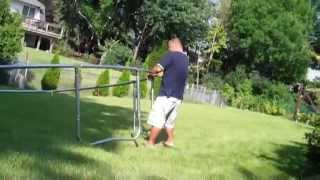 Airzone 12' Trampoline Set-Up & Review Walmart 2014