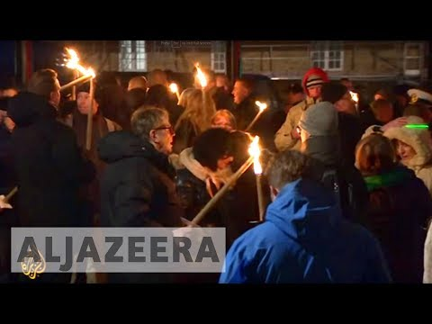 Anti-islam Rallies Reach Denmark's Streets video
